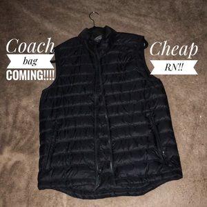 Champion Vest Bubble Jacket!! Size Small!!